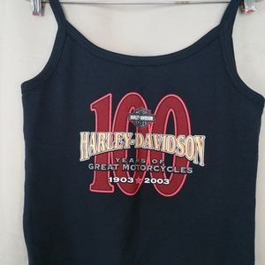 100 Years Anniversary Harley-Davidson Tank Top Med